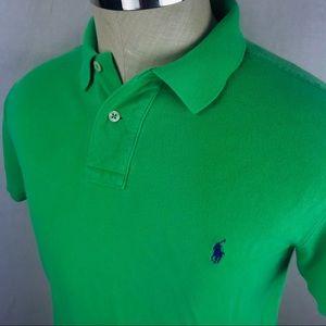 Polo Ralph Lauren Custom Fit green Polo shirt
